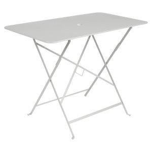 Fermob Bistro Pöytä Steel Grey 97x57 Cm