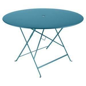 Fermob Bistro Pöytä Turquoise Ø117 Cm