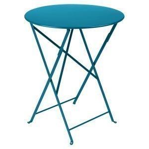 Fermob Bistro Pöytä Turquoise Ø60 Cm