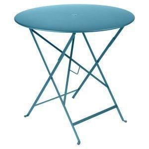 Fermob Bistro Pöytä Turquoise Ø77 Cm