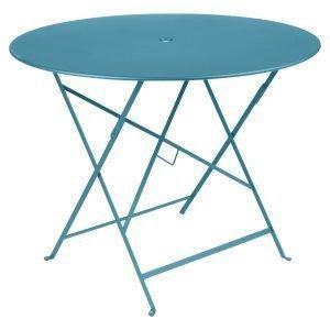 Fermob Bistro Pöytä Turquoise Ø96 Cm