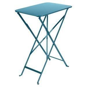 Fermob Bistro Pöytä Turquoise 37x57 Cm