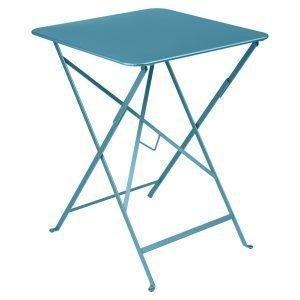 Fermob Bistro Pöytä Turquoise 57x57 Cm