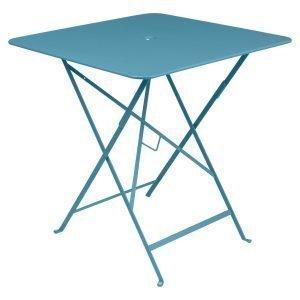 Fermob Bistro Pöytä Turquoise 71x71 Cm