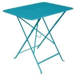 Fermob Bistro Pöytä Turquoise 77x57 Cm
