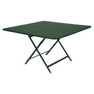 Fermob Caractere Pöytä Cedar Green 128x128 Cm