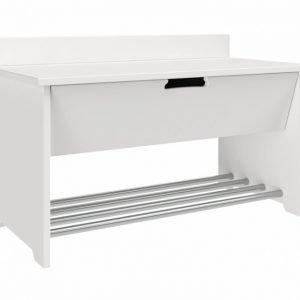 Flex Istuinpenkki 1 laatikko Valkoinen