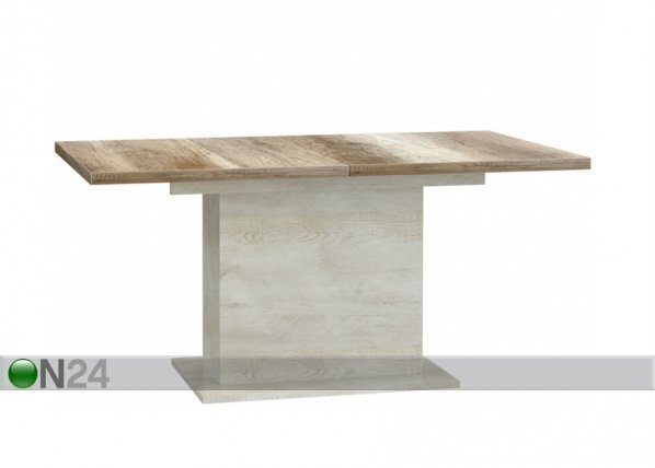 Forte Jatkettava Ruokapöytä 160-200x90 Cm