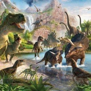 Gc Kuvatapetti Dinosaurukset 244x305 Cm