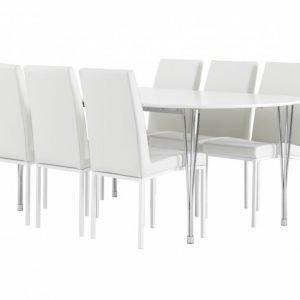 George Pöytä 160 + 6 Simona Tuolia Valkea