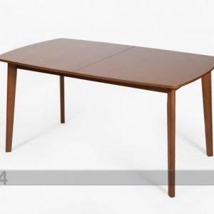 Go Jatkettava Ruokapöytä Bari 90x150-194 Cm Pähkinä
