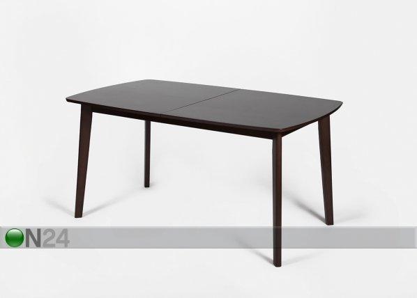 Go Jatkettava Ruokapöytä Bari 90x150-194 Cm Wenge