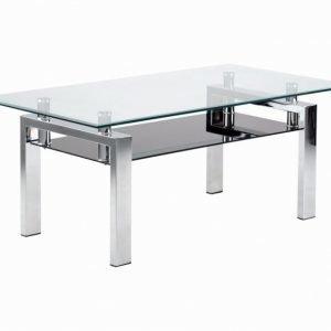 GräsÅs Sohvapöytä 110 Ruostumaton Teräs/Lasi