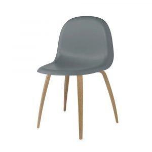 Gubi 3d Tuoli Oak / Rainy Grey