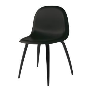 Gubi 5 Tuoli Musta / Musta