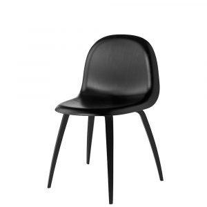 Gubi 5 Tuoli Musta / Musta Pyökkiä H45 Cm