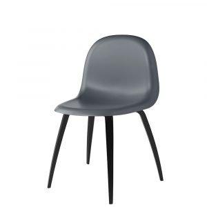 Gubi 5 Tuoli Musta / T Harmaa H45 Cm