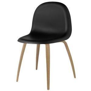 Gubi 5 Tuoli Musta / Tammi