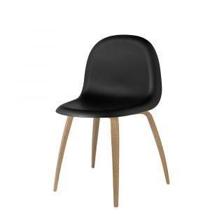 Gubi 5 Tuoli Tammi / Musta H45 Cm