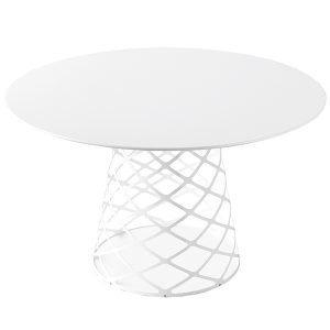 Gubi Aoyama Ruokapöytä Valkoinen Laminaatti 120 Cm