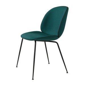 Gubi Beetle Dining Chair Tuoli Musta / Kvadrat Canvas 984