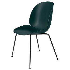 Gubi Beetle Tuoli Musta / Vihreä