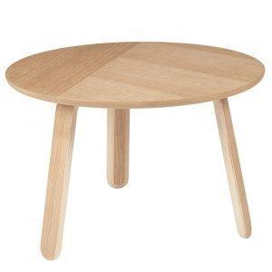 Gubi Paper Pöytä Tammi Ø60 Cm