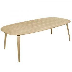 Gubi Ruokapöytä Tammi 120x230 Cm