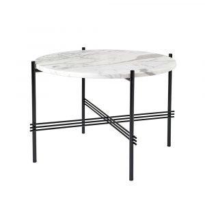 Gubi Ts Pöytä Medium Valkoinen Marmori H41 Cm Ø55 Cm