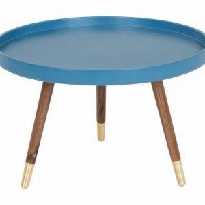 Habana Sivupöytä 55 Saksanpähkinä/Sininen