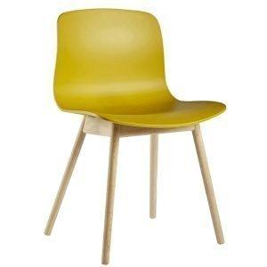 Hay About A Chair Aac12 Tuoli Keltainen Lakattu Tammi