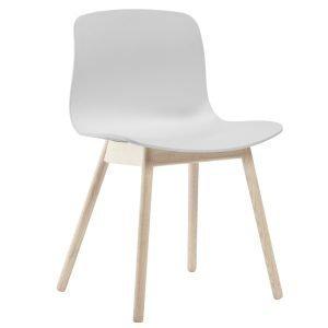 Hay About A Chair Aac12 Tuoli Mattalakattu Tammi Valkoinen