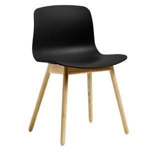 Hay About A Chair Aac12 Tuoli Musta Lakattu Tammi