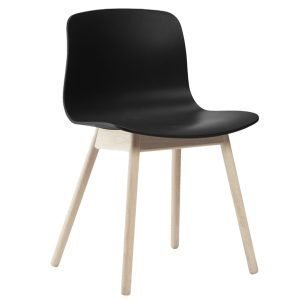 Hay About A Chair Aac12 Tuoli Saippuoitu Tammi Musta