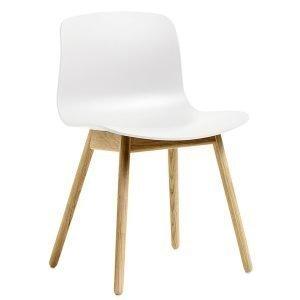 Hay About A Chair Aac12 Tuoli Valkoinen Lakattu Tammi