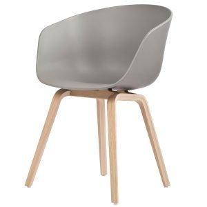 Hay About A Chair Aac22 Tuoli Harmaa Saippuoitu Tammi