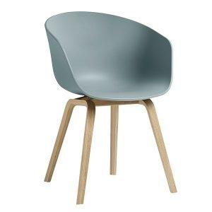 Hay About A Chair Aac22 Tuoli Mattalakattu Tammi Dusty Blue
