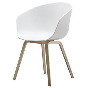 Hay About A Chair Aac22 Tuoli Mattalakattu Tammi Valkoinen