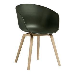 Hay About A Chair Aac22 Tuoli Mattalakattu Tammi Vihreä