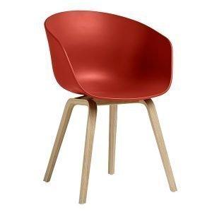 Hay About A Chair Aac22 Tuoli Mattalakattu Tammi Warm Red