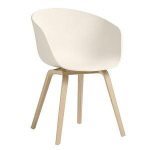 Hay About A Chair Aac22 Tuoli Tammi Cream White Saippuoitu