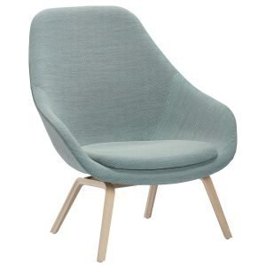 Hay About A Lounge Chair Aal93 Nojatuoli Saippuoitu Tammi Steelcut Trio 81