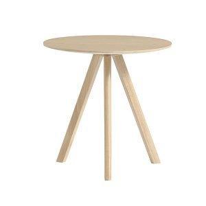 Hay Copenhague Cph20 Pyöreä Pöytä Mattalakattu Tammi 50 Cm