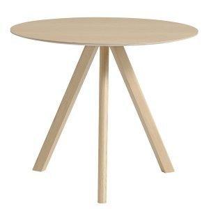 Hay Copenhague Cph20 Pyöreä Pöytä Mattalakattu Tammi 90 Cm