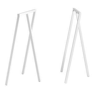 Hay Loop Stand Pukkijalat Korkea Valkoinen 2 Kpl
