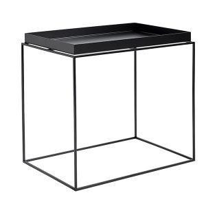 Hay Tarjotinpöytä Suorakaide Musta