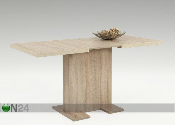 Hela Jatkettava Ruokapöytä Britt 70x110/150 Cm