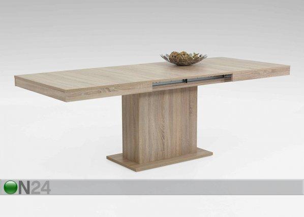 Hela Jatkettava Ruokapöytä Scarlet 90x140-220 Cm