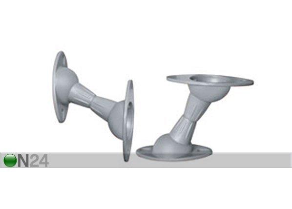 hg kaiutinkiinnikkeet 2 kpl meliconi space system sound 60. Black Bedroom Furniture Sets. Home Design Ideas
