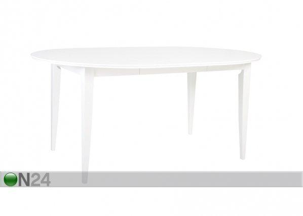 Home4you Jatkettava Ruokapöytä Emma 115x115-165 Cm
